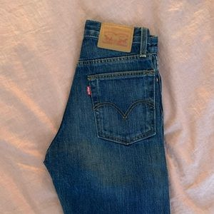Levi's Wedgie Medium Dark Wash